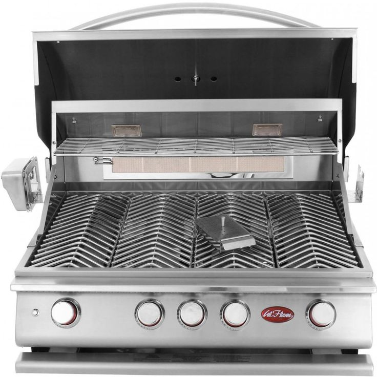4-Burner Built-In Stainless Steel Propane Gas Grill with Accessory Kit http://grillidea.com/char-broil-classic-4-burner-gas-grill-review/