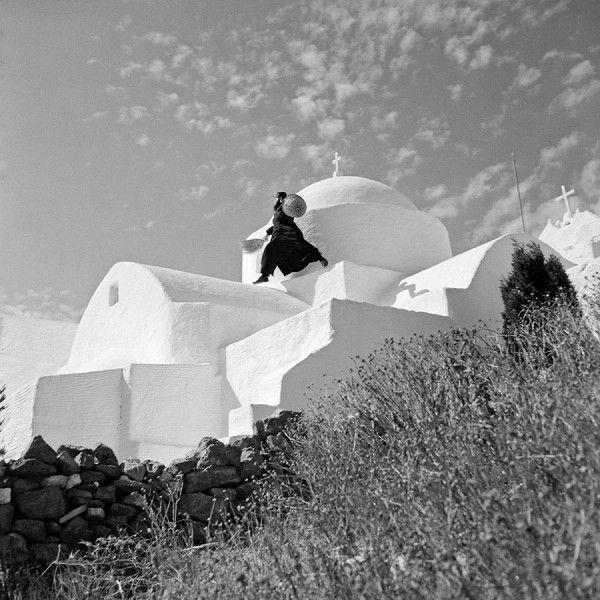 Zacharias Stellas, Agios Antonios monastery, Paros 1971 © Benaki Museum Photographic Archive