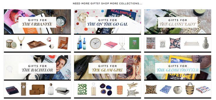 Gift Finder at Havenly.com
