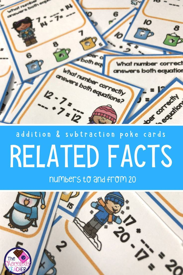 Color By Number Related Addition Subtraction Facts Boom Cards Video Video In 2021 Subtraction Facts Addition And Subtraction Kindergarten Resources