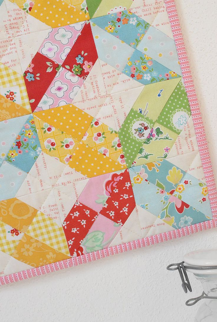 Monthly Mini Quilt for May... and a sweet giveaway! — SewCanShe | Free Daily Sewing Tutorials
