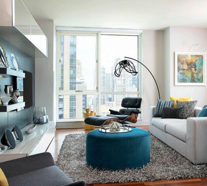 designer sessel wohnzimmer wohnideen edgetags minimalistisch ... - Bunte Stuhle Sessel 25 Raumideen