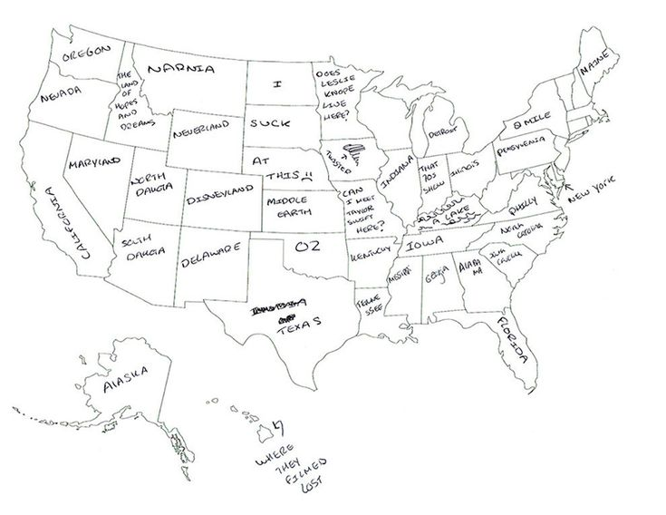 Yli Tuhat Ideaa United States Map Labeled Pinterestissä - Us map with labels