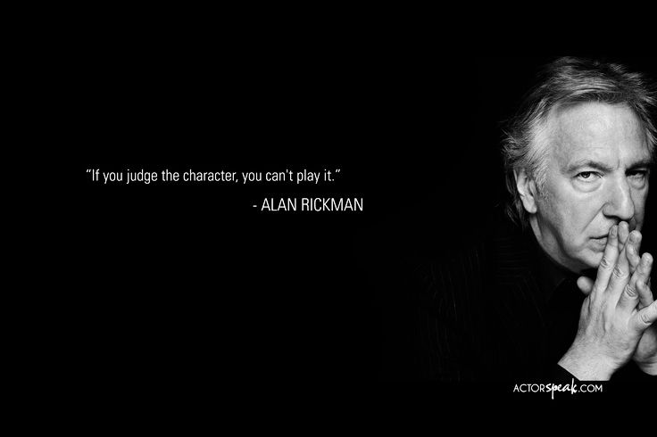 Alan Rickman Movie Quotes: 30 Best Quotes For Actors Images On Pinterest