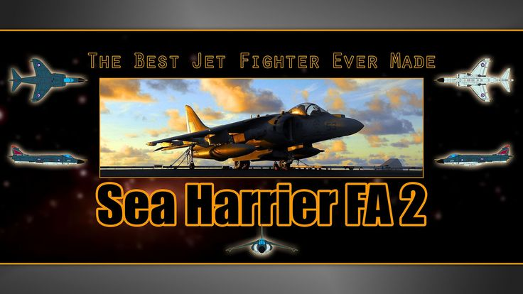 Check out my documentation project for The Best Jet Airways Fighter Ever Made - eps. Sea Harrier FA2
