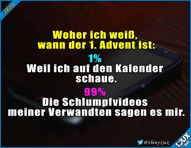 Alle Jahre wieder ^^' #Advent #Adventszeit #Weihnachten #Weihnachtszeit #lustigeSprüche