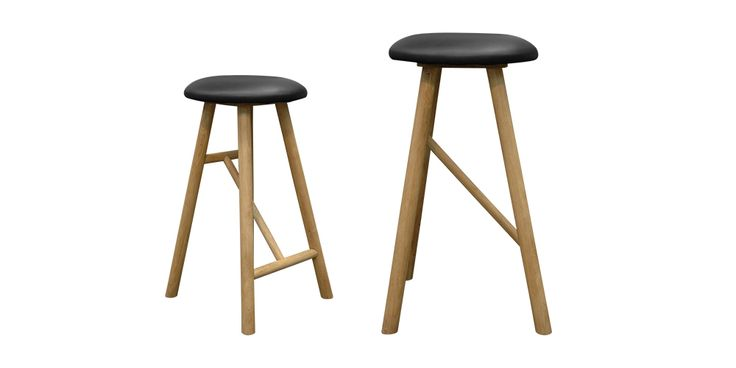 WhyWood Bar Stools from Hunter Furniture