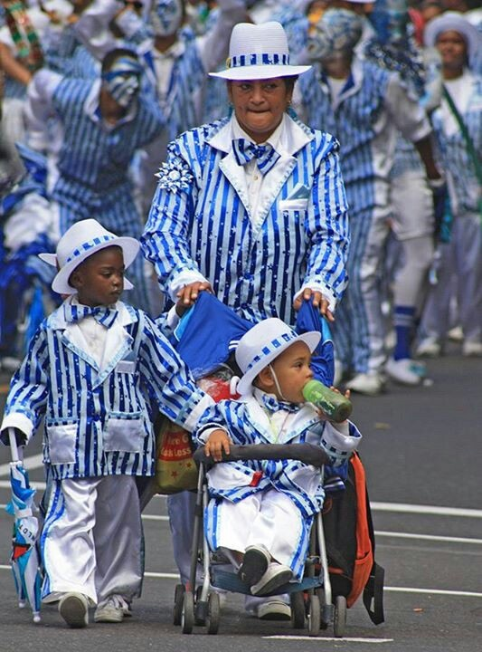Carnival in Cape Town, South Africa. Held in mid March.