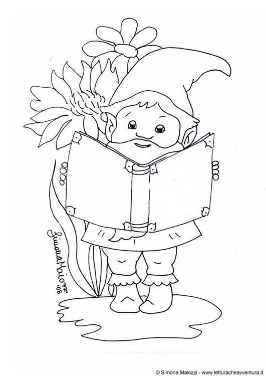 coloring page gnome coloring picture gnome free coloring sheets to print and download - Garden Gnome Coloring Pages