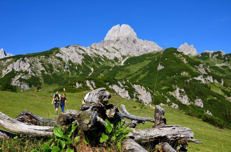 Hiking Mahdalm Annaberg Lammertal Bischofsmütze Austria Salzburg