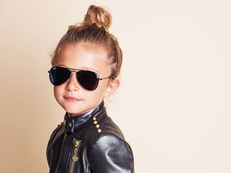 Ray-Ban aviator sunglasses for kids, photography & copyright OBOS
