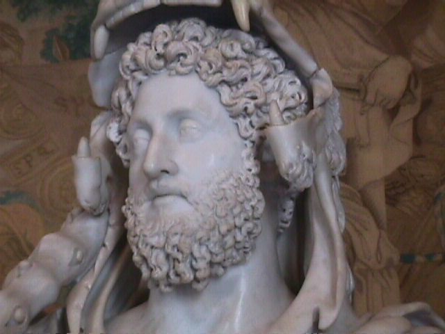Emperor Commodus. Emperor from 177 to 192, he renamed of the city of Rome to 'Colonia Lucia Annia Commodiana' and also changed the names of the months of the year. On December 31, 192 some conspirators tried to kill him by poisoning his food, but Commodus vomited it out. They then sent his wrestling partner into the Emperor's private bath, where he strangled Commodus.