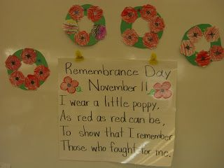 Pumpkins, Owls, and Remembrance Day... Oh My!