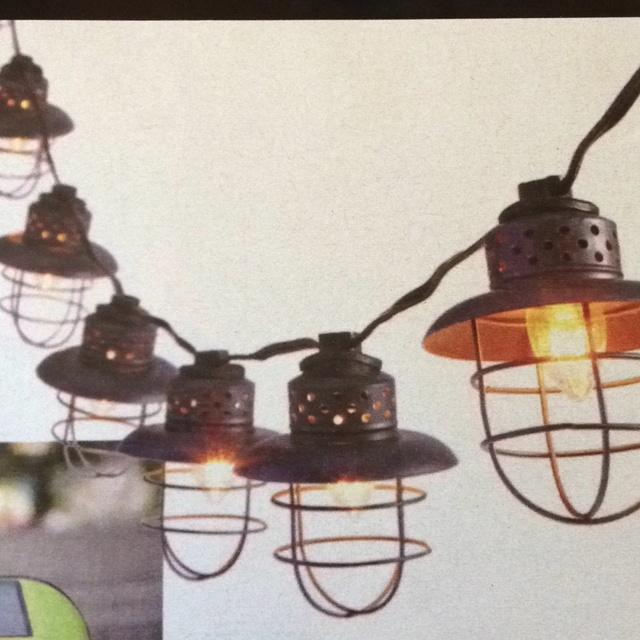 Metal String Lights Target : I love these pendent lights! Smith and Hawken Metal Cage String Lights, USD 25, target.com ...