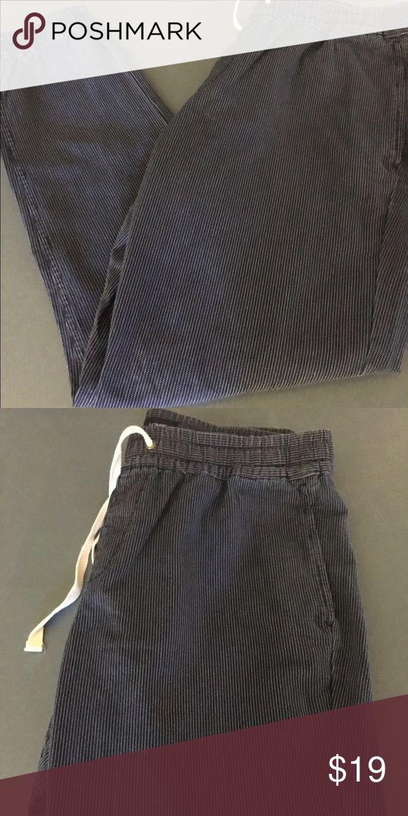 JCrew Slim Fit Joggers (Blue Stripe) - Brand New Brand New Slim Fit Joggers from JCrew - Never Worn - Comfortable Fabric - Tight Ankle J. Crew Pants Sweatpants & Joggers