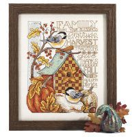 Family Blessings Counted Cross Stitch Kit