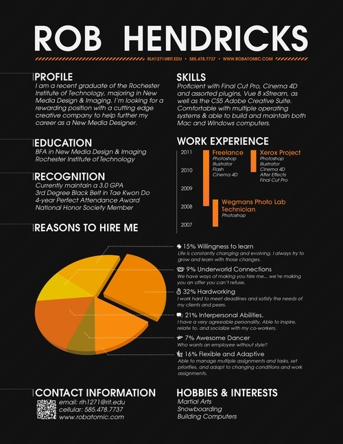 23 best Resume images on Pinterest Resume cv, Resume ideas and - how to write a resume that stands out