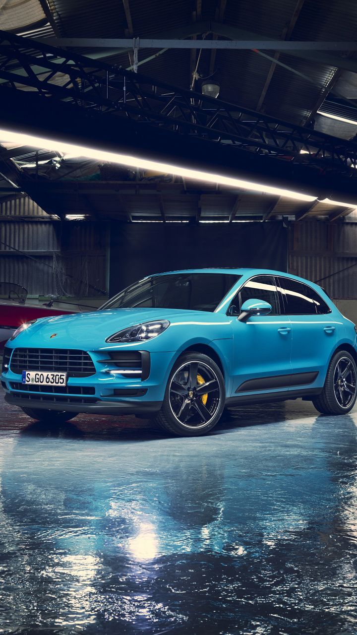Blue Suv Porsche Macan 720x1280 Wallpaper Carros Auto