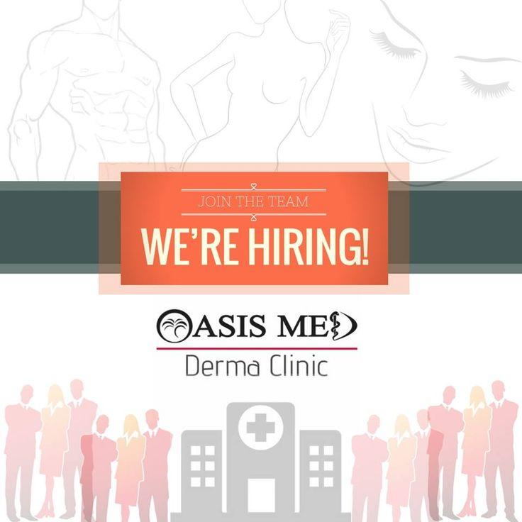 Η OASIS MED DERMA CLINIC Πρότυπο Κέντρο Δερματολογίας–Δερματοχειρουργικής & Ιατρικής Αισθητικής αναζητά ΠΡΟΣΩΠΙΚΟ στο Ηράκλειο, Ρέθυμνο και Άγιο Νικόλαο Κρήτης!  - - - - - - JOBS OPENING 🔊 - - - - - -  👁🗨ΘΕΣΕΙΣ: Ιατροί, Νοσηλεύτριες/Αισθητικοί, Γραμματειακή Υποστήριξη  ✦Βιογραφικό με φωτογραφία στο 📧info@oasismed.gr