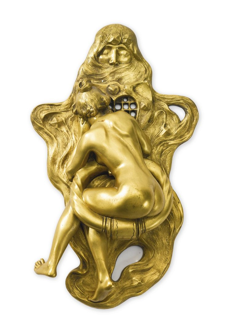 Max Blondat 1872 - 1925 \ La Curiosité\  a gilt-bronze door knocker  sc 1 st  Pinterest & 143 best Door Knockers images on Pinterest | Lever door handles ...