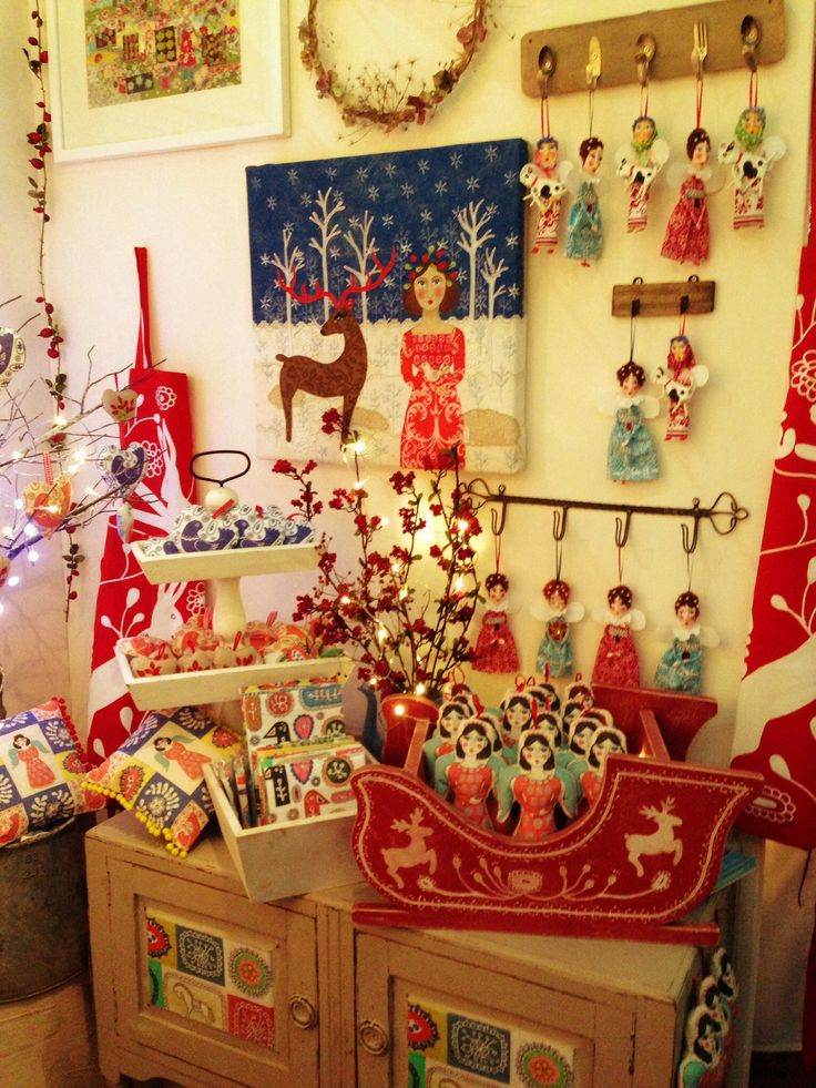 Christmas Fair Craft Ideas Part - 42: My Stand Countrylivinguk London #Country Living Christmas Fair #Christmas # Crafts