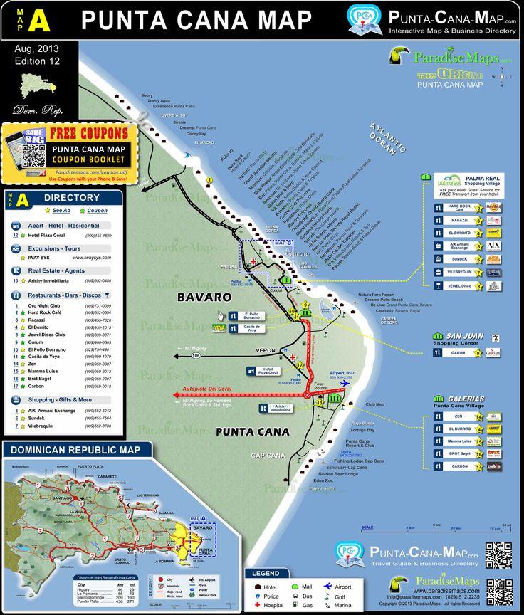 Best 25+ Punta Cana Map Ideas On Pinterest