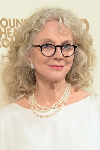 Looking for a cut to show off your silver locks? Try a slightly unkempt and shoulder length hair like Blythe Danner.  Check out the 5 best haircuts for gray hair.