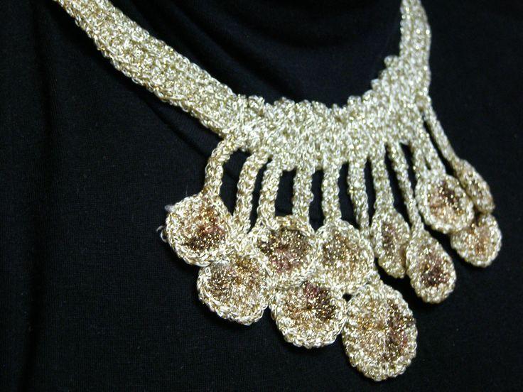 Crochet necklace,summer 2014