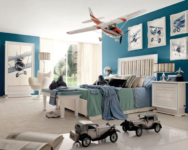 Cool little boys room!