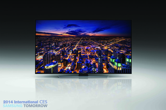 From #CES2014 and soon to be in our #Norwich showroom,  the 48 and 55 inch models from the Samsung H8000 range.