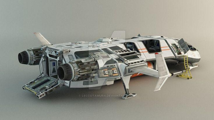 Spaceship+-+Concept+by+leccotamura.deviantart.com+on+@DeviantArt