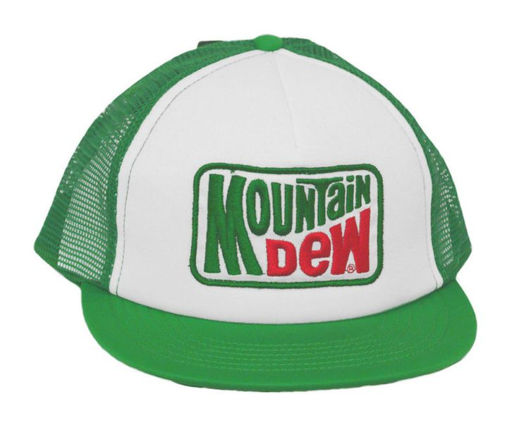 Retro Mountain Dew Cap