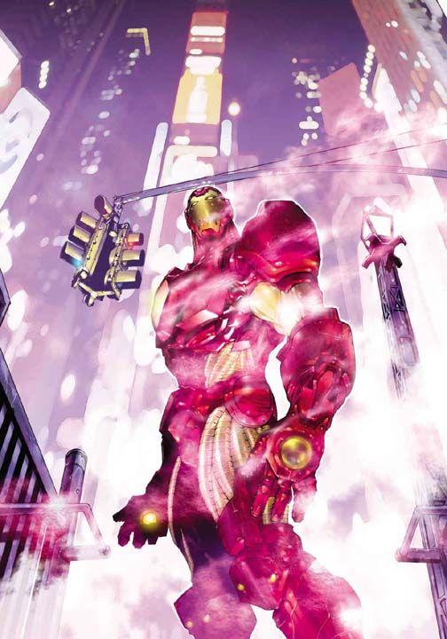 Iron Man by Kia Asamiya