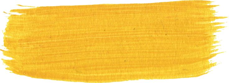 11 Yellow Paint Brush Strokes (PNG Transparent)   OnlyGFX.com