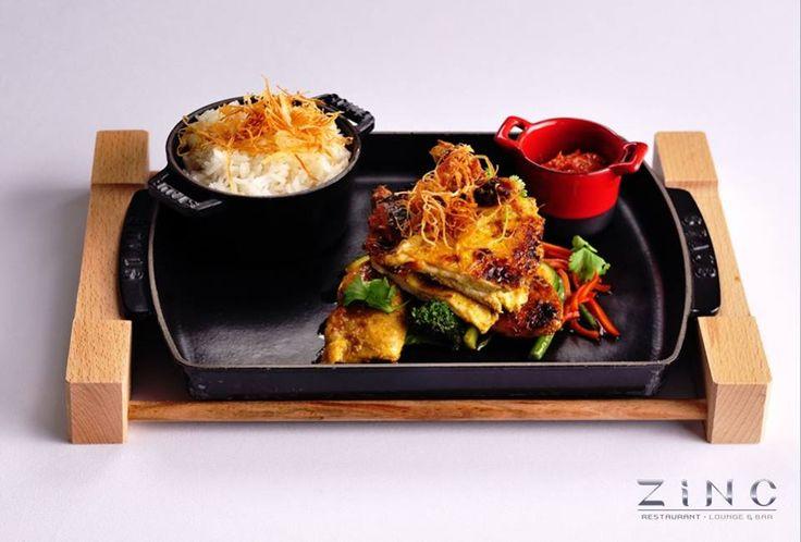 Asijské speciality v Zinc Restaurantu (Hilton Prague Old Town)