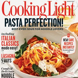 Cooking Light Magazine Online Features: March 2013