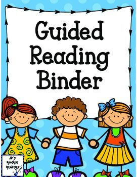 Check out this FREE Guided Reading Binder! It has room for six group spots…