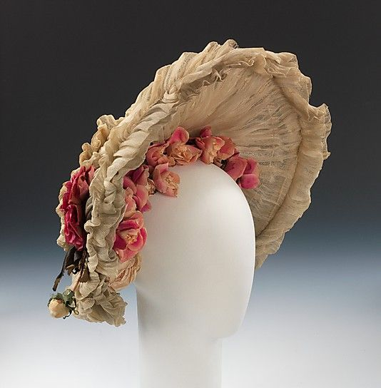 Cotton and silk hat ca. 1903
