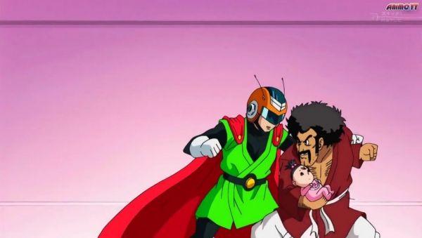 Dragon Ball Super 17. El nacimiento de Pan, Goku se marcha con Wiss