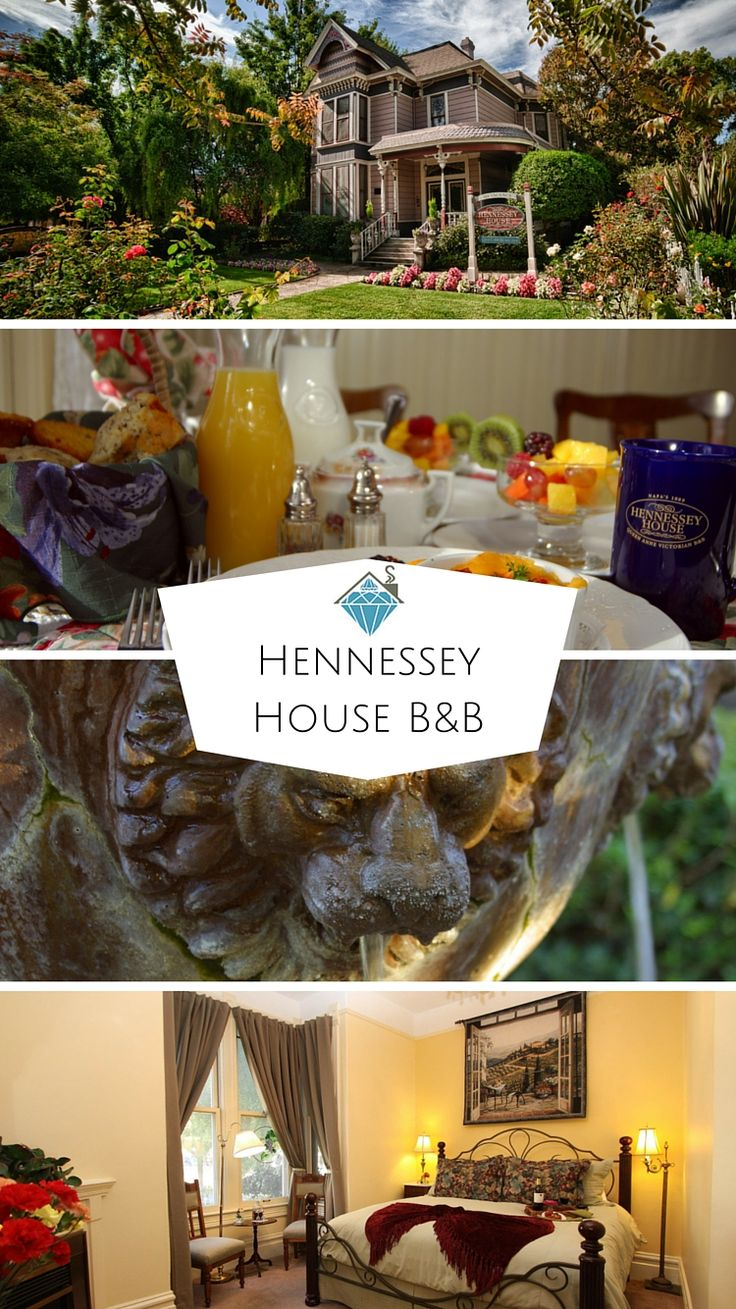 Hennessey House Bed and Breakfast is one of our favorite hidden gem B&Bs in Napa Valley! The Victorian inn, a National Historic Landmark, offers evening wine and cheese served on the porch, a multi-course hot breakfast, and even a sauna (all included with your stay). And since the inn is set in downtown Napa, there are tons of tasting rooms and restaurants within walking distance.
