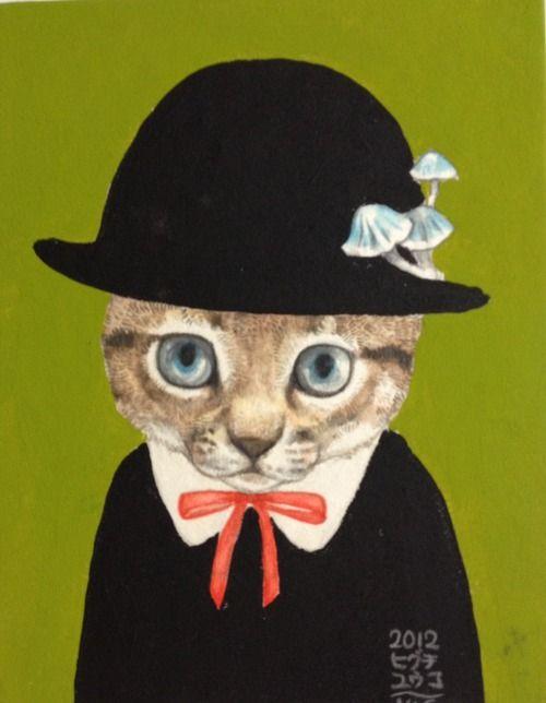 Yuko Higuchi - 黒帽子 / black hat