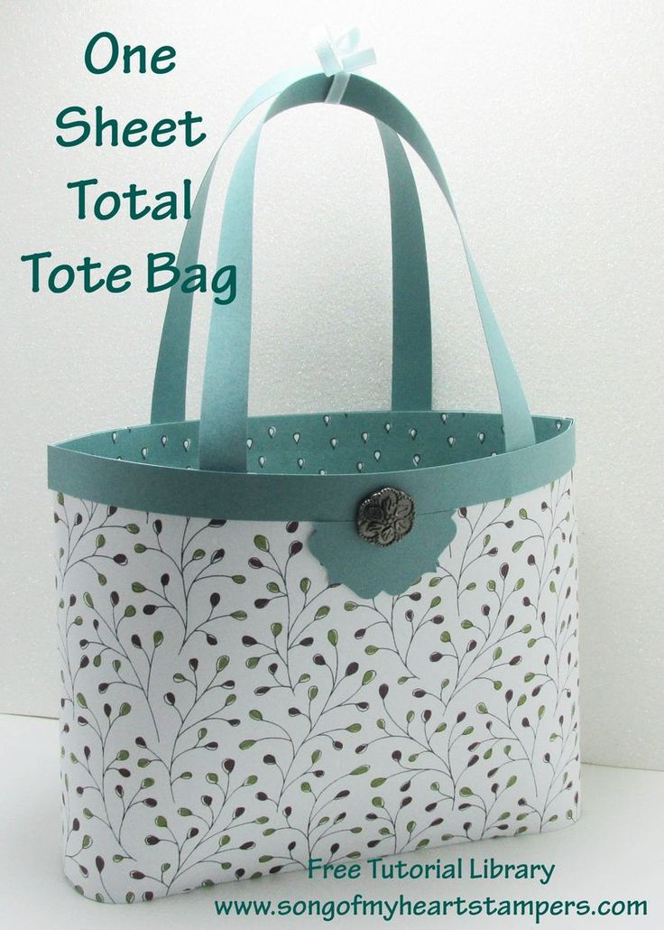 Easiest and most economical tote bag EVER!