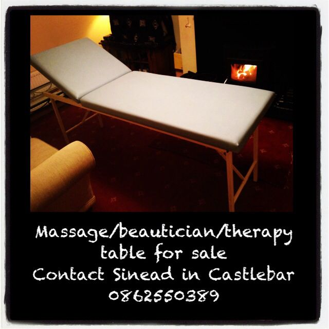 Massage table for sale in Castlebar, Mayo