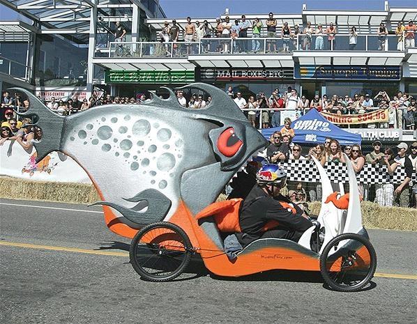 Red Bull Soapbox Car