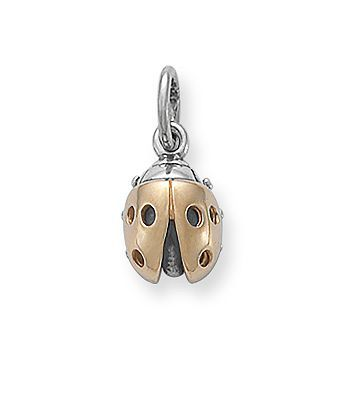 972ddfffb Gold & Silver Ladybug Charm | James Avery | Gotta Have It | James avery,  Jewelry, Charmed