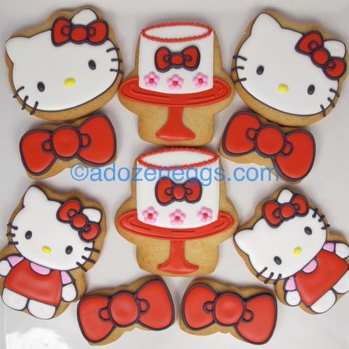 Sweet Hello Kitty cookies