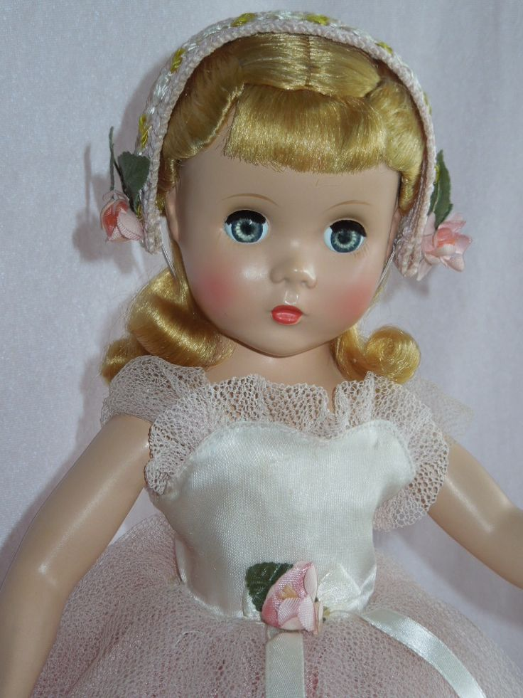 """OUTSTANDING 14"""" Madame Alexander Strung Rosamund the Bridesmaid Doll from gandtiques on Ruby Lane"""