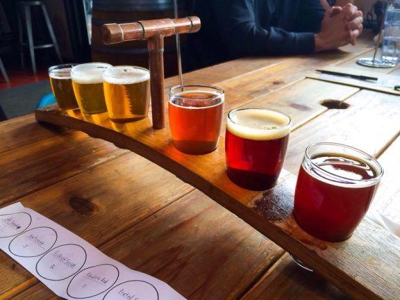 Geschenkidee zu Valentienstag: Bierprobe Augsburg / Craft Beer Probe