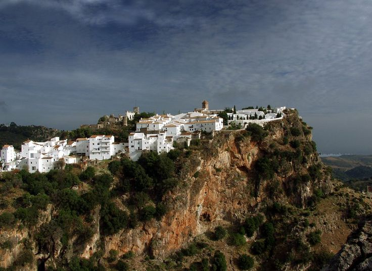 Casares, Andalusia, Spain - by Patrick Flament