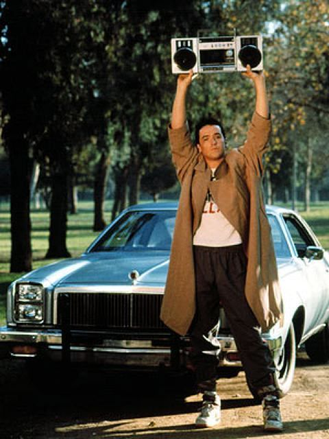 I want John Cusak holding a boombox out my window... just once I want my life to be like an 80s movie... but no, John Hughes did not direct my life